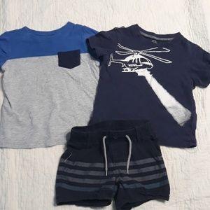 3pc lot of boy clothes